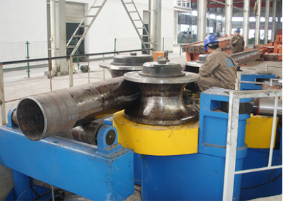 Pipe Bending Machine In Haotai Steel Company