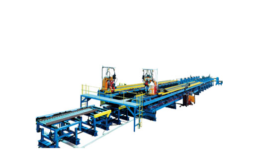 Corrugated Web H-beam Welding Line