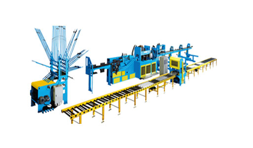 Steel Bar Truss Production Line