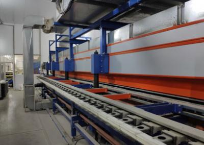 PU & Rockwool Sandwich Panel Line In Ukraine